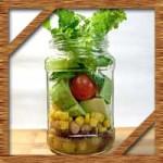 話題のジャーサラダとは?100均瓶での作り方や食べ方を紹介!