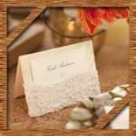 結婚式の席札を簡単手作り!100均を利用したアイデアを紹介!