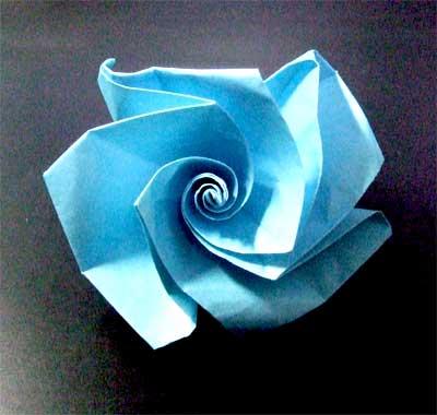 ハート 折り紙 折り紙 薔薇 簡単 : nichijou-kissa.com