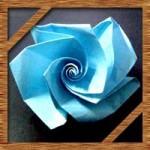 折り紙のバラの簡単な折り方!子供も折れる立体の折り方を紹介