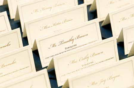 結婚式の席札メッセージ 両親と親戚への喜ばれる文例集を紹介