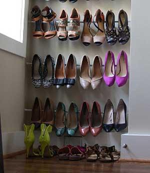 靴の収納アイデア. 20140303,05