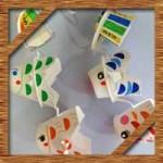 こいのぼりを簡単手作り工作!紙コップや画用紙で子供と作ろう