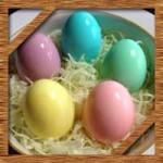 ゆで卵イースターエッグの簡単な作り方!食紅でカラフルに色付け