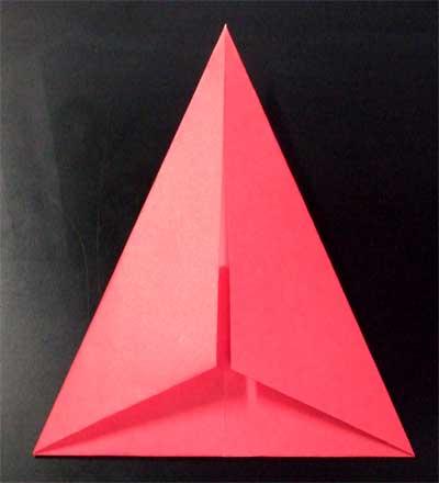 ハート 折り紙:折り紙 三角 立体-nichijou-kissa.com