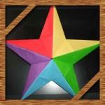 折り紙の星の簡単な折り方!5枚で立体的にする作り方を紹介