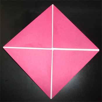 ハート 折り紙 折り紙 家 立体 : nichijou-kissa.com