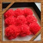 花紙で簡単ポンポンや桜にカーネーションの作り方!アレンジ飾り方を紹介