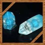 UVレジンアクセサリーの作り方!100均おゆまるで水晶を手作り!
