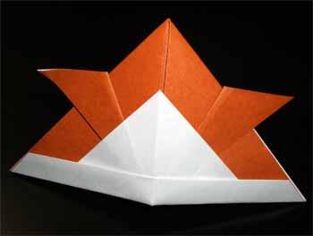 ハート 折り紙:折り紙 兜 難しい-nichijou-kissa.com