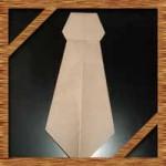 折り紙のネクタイの簡単な折り方!父の日カードに最適な作り方を紹介