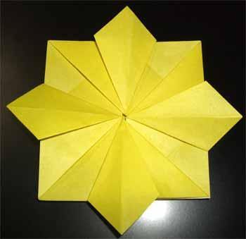 簡単 折り紙 折り紙 ひまわり 作り方 : nichijou-kissa.com