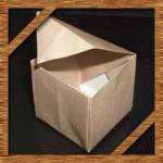 折り紙の箱の折り方!正方形やかわいいふた付きの簡単な作り方