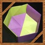 折り紙の箱の折り方!簡単かわいい六角形箱の作り方