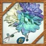 浴衣に似合う手作り髪飾り!100均造花とレジンで簡単な作り方