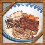 食戟のソーマの城一郎特製こってりラーメン!作り方レシピを再現