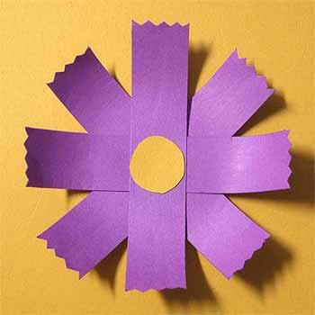 クリスマス 折り紙 折り紙コスモス作り方 : nichijou-kissa.com