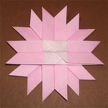 簡単 折り紙 折り紙壁飾り作り方 : nichijou-kissa.com