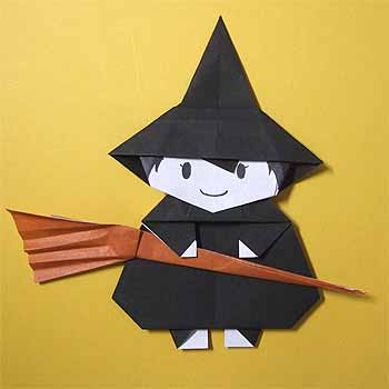ハート 折り紙 : 魔女の帽子 折り紙 : nichijou-kissa.com