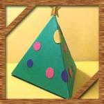 クリスマス飾りオーナメント100均画用紙での作り方!子供も簡単に手作り