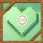 バレンタインカードを手作り!子供も簡単飛び出すハートの作り方