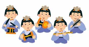 雛人形の五人囃子の意味由来楽器の並び順に飾り方は コタローの