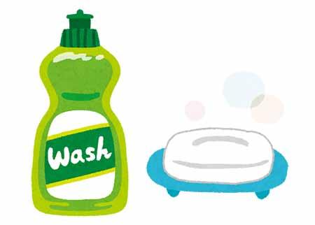 石鹸 ひび割れ